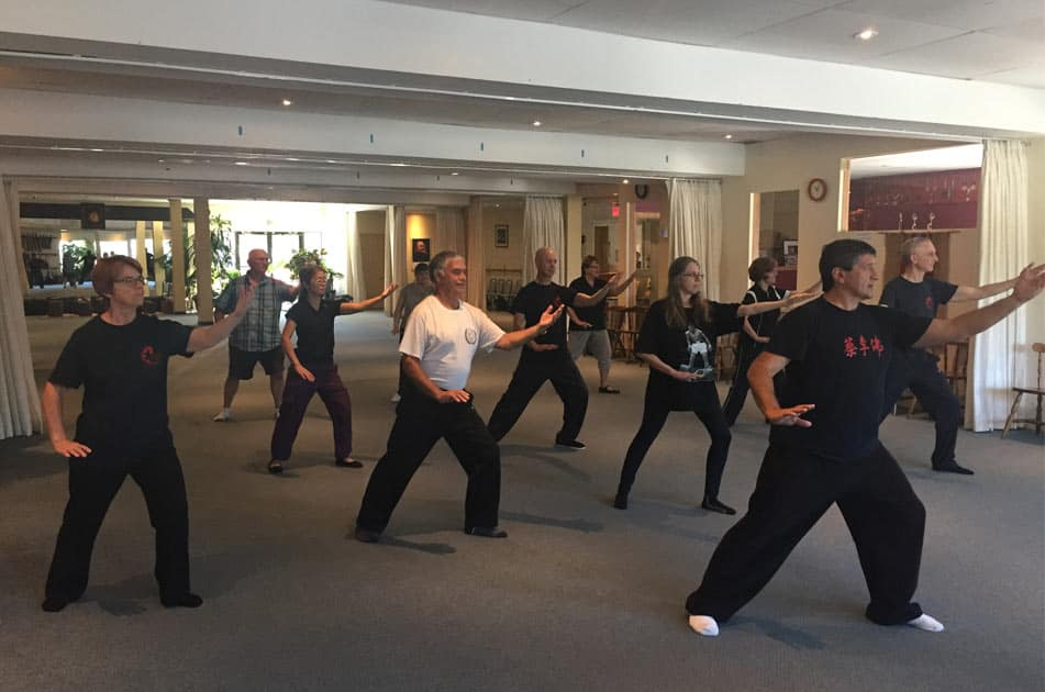 Group Tai Chi Class in Montreal's West Island