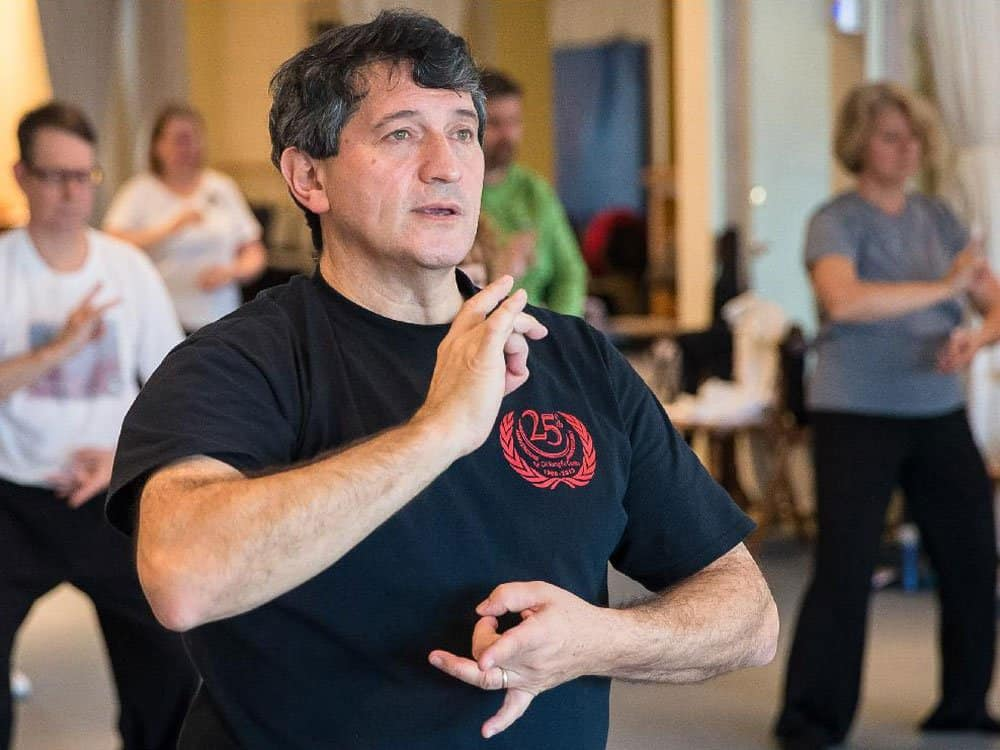 Master Sergio Arione West Island Tai Chi