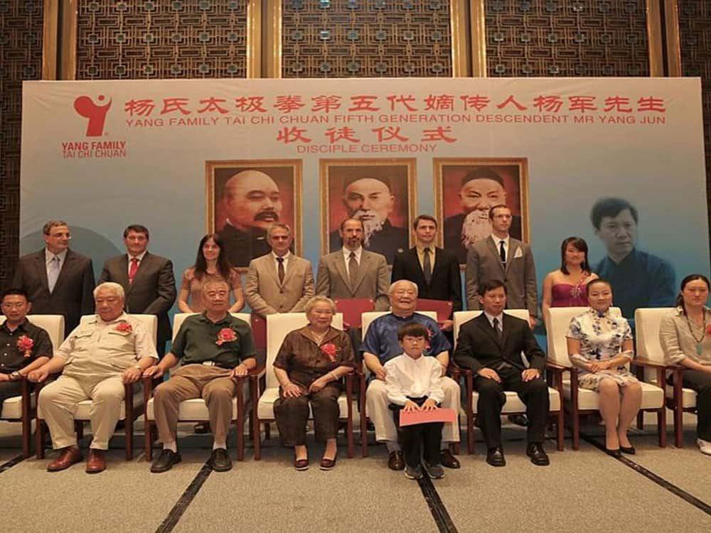 Yang Family Tai Chi 5th Generation Disciples